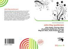 Copertina di John Hay (politician)
