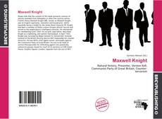 Maxwell Knight kitap kapağı