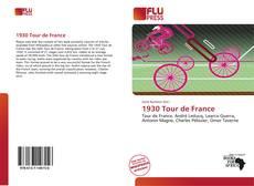 Portada del libro de 1930 Tour de France