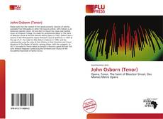 Buchcover von John Osborn (Tenor)