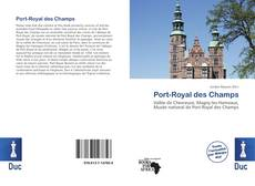 Обложка Port-Royal des Champs
