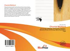 Bookcover of Chantal Maillard