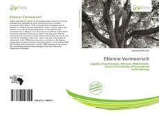 Capa do livro de Etienne Vermeersch