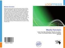 Moshe Feinstein kitap kapağı