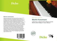 Bookcover of Martin Franzmann