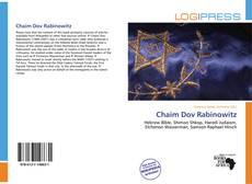 Обложка Chaim Dov Rabinowitz