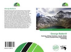 Capa do livro de George Botterill