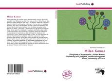 Bookcover of Milan Komar