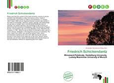 Capa do livro de Friedrich Schickendantz