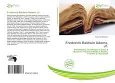 Couverture de Frederick Baldwin Adams, Jr.