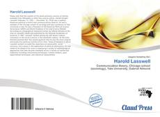 Bookcover of Harold Lasswell