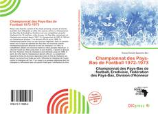 Bookcover of Championnat des Pays-Bas de Football 1972-1973