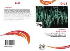 Buchcover von June Card