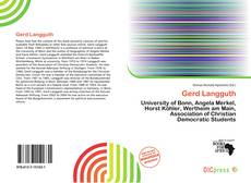 Bookcover of Gerd Langguth
