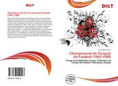 Bookcover of Championnat de Turquie de Football 1965-1966