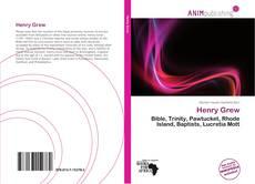 Henry Grew kitap kapağı