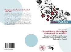 Bookcover of Championnat de Turquie de Football 1991-1992