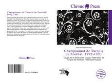 Bookcover of Championnat de Turquie de Football 1992-1993
