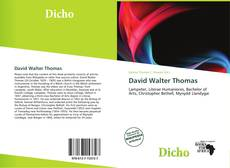 Bookcover of David Walter Thomas