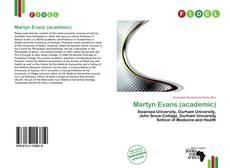 Buchcover von Martyn Evans (academic)