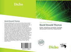 Couverture de David Oswald Thomas
