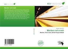 Bookcover of Marden rail crash