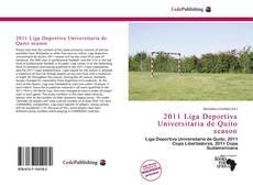 Bookcover of 2011 Liga Deportiva Universitaria de Quito season