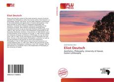 Couverture de Eliot Deutsch