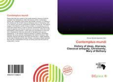 Bookcover of Contemptus mundi