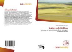 Abbaye de Bobbio kitap kapağı