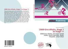 2008 Giro d'Italia, Stage 1 to Stage 11 kitap kapağı