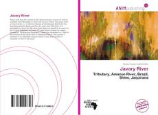 Bookcover of Javary River