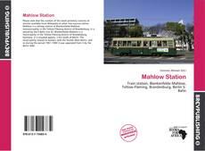 Mahlow Station kitap kapağı