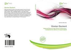 Bookcover of Günter Deckert