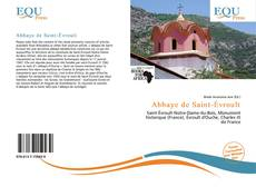 Abbaye de Saint-Évroult kitap kapağı