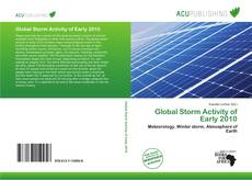 Bookcover of Global Storm Activity of Early 2010