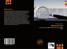 Bookcover of Deferred Tax