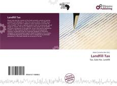 Bookcover of Landfill Tax