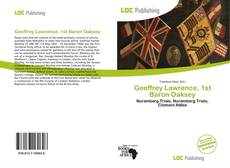 Bookcover of Geoffrey Lawrence, 1st Baron Oaksey