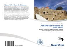 Bookcover of Abbaye Notre-Dame de Belchamp