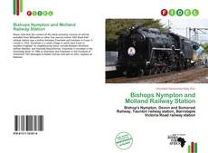 Capa do livro de Bishops Nympton and Molland Railway Station