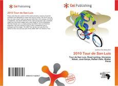 Portada del libro de 2010 Tour de San Luis