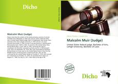 Bookcover of Malcolm Muir (Judge)