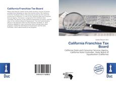 Bookcover of California Franchise Tax Board