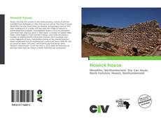 Bookcover of Howick house