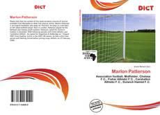 Capa do livro de Marlon Patterson