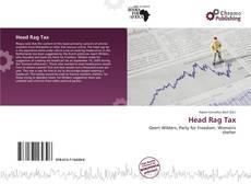 Buchcover von Head Rag Tax