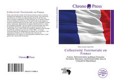 Capa do livro de Collectivité Territoriale en France