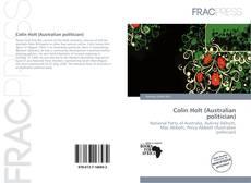 Bookcover of Colin Holt (Australian politician)