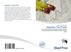 Bookcover of Adoption Tax Credit